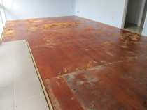 tawa floor - Mikes Floor Sanding - Before