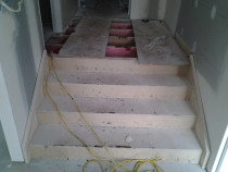 rimu stairs - Mikes Floor Sanding - Before