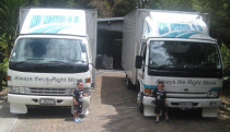 Future Truckies of Mo Moves 4 U - Love our Grandads trucks