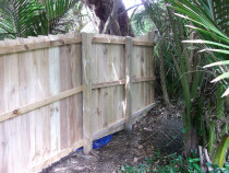 Mohi Te Whatu Fencing Limited - 1.8m Rough Sawn fence