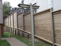 Mohi Te Whatu Fencing Limited - Horizontal panels 1.8m double smooth decking