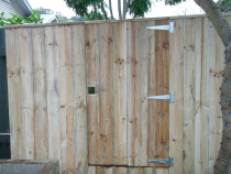 Mohi Te Whatu Fencing Limited - 1.8m ped gate rough sawn