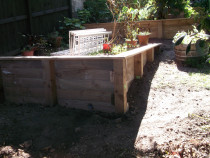 Mohi Te Whatu Fencing Limited - garden beds
