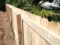 Mohi Te Whatu Fencing Limited - Rough Sawn 1.5m high rails and palings over post