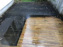 Deck Cleaning - Monster Housewash and Gutters