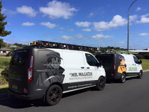 Mr Walker Electrical & Plumbing 2 vans in Whangaparaoa