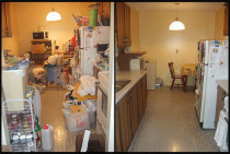End Of Tenancy B4 - After