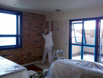 Inner City apartment painting by No Limit Painting Ltd - Plastering and Preperation