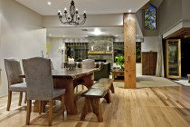 Tasman Oak floor - Waterborne finish