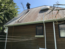 NZTS Rope Access Roof Cleaning