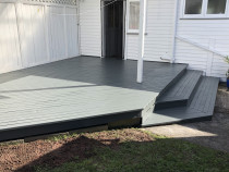 Lovely deck repaint - Deck repaint in Mt Albert, Auckland by Paint Crew
