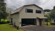 Exterior Repaint - A recent repaint of an exterior by Paint Crew
