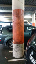 Project: Glenfield Mall Carpark - Paint it Perfect Ltd - This is the before image
