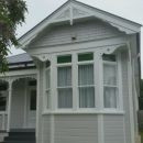 Mt Eden Villa Front - Front gable and windows after