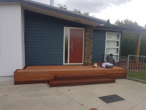 Deck re-paint - PaintRod Quality Painters Ltd - Deck,, re-stain, Wanaka
