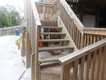 PANNA Woodworks Ltd - deck stairs