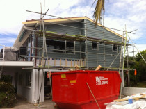 Reclad Tainui St Torbay by Paul Troake Construction Limited - Full reclad, new double glazed aluminium joinery