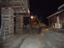 Snells Beach Reno by Paul Troake Construction Limited - Working late