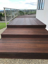 Deck washed and painted by Perfection is Possible.