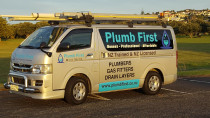 Plumb First vehicle ready for action - Plumb First Ltdservices a wide part of Auckland providing first class plumbing and roofing services.