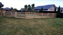 Interlocking Farm Style Fencing