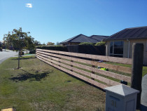 Post and Rail Fencing by Pure Style Home & Garden