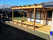 Pergola and Pine Deck by Pure Style Home & Garden