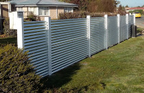 Corrugated Iron Fencing by Pure Style Home & Garden