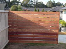 Kwila Feature Fence by Pure Style Home & Garden