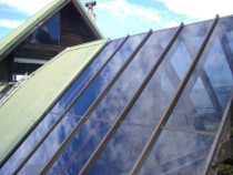 after completion of refurbishing glass roof by R & B Glass & Glazing - after completion of refurbishing glass roof