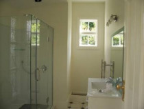 Bathroom - This is a bathroom from a large extension/renovation of a home that had been transported to the site.