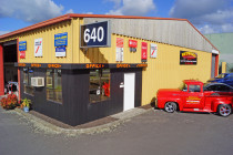 Redwood Panel & Paint 2005 Ltd, new premises at 640 SWANSON ROAD