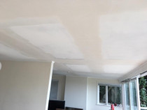 Patching ceiling cracks