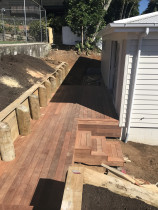 Sail City Construction Ltd - cedar road new build - kwila decking