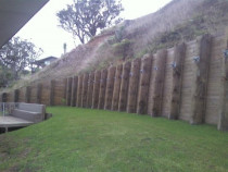 Retaining Wall by Scott Johnson Contracting