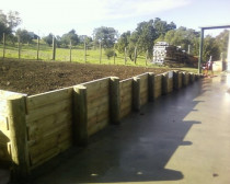 Fire Station Retaining Walls