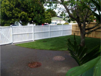 Make Over: Sculptaview Landscaping Ltd - This front section was as uneven dead lawn.