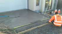 Concrete Driveway by SD Construct