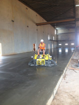 Polish finish ride on trowel machine 5000sqm by SD Construct