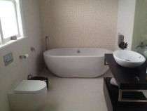 Bathroom by Shoreside Plumbing Ltd