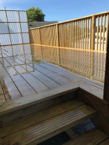 Tidy cost effective Deck