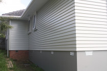 Exterior House painted.