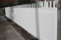 Fence Painted