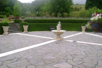 Basalt Crazy Paving by Stone Creations