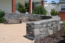 Kaimai Stone Dry Stacked by Stone Creations