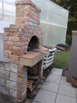 Wood fire pizza oven by Stone Creations