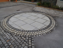 Paving Feature by Stone Creations
