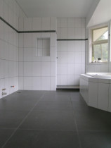 normal bathroom ceramic tile natural stone border - Style with Tile Ltd