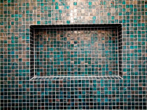 Bizzasa Mosaic soap box close up - Style with Tile Ltd