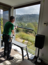 Oversize windows are our specialty - Suntamers NZ - We have access to extra wide rolls and use specialised equipment and techniques to apply the film.